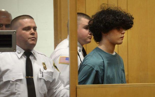 Mathew Borges asesinó a su compañero de clase cuando tenía 15 años.