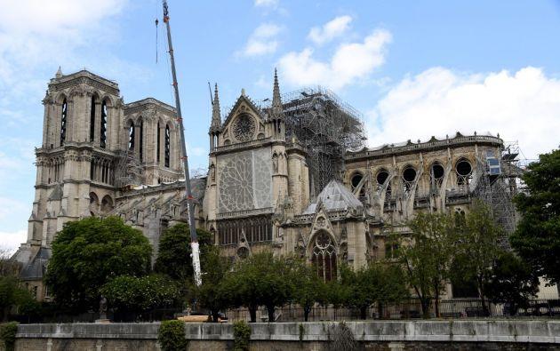 El Arzobispado de París destacó en un comunicado que la cifra no ha sido consolidada por ninguna fundación ni autoridad. Foto: AFP