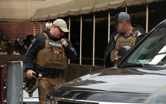 """Agentes ejecutaron órdenes de arresto contra """"individuos que estaban dentro de la Embajada de Venezuela"""". Foto: Reuters"""