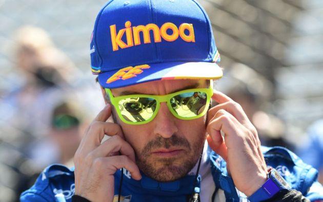 El piloto español Fernando Alonso se estrelló este miércoles contra el muro del circuito Motor Speedway de Indianápolis. Foto: Reuters.