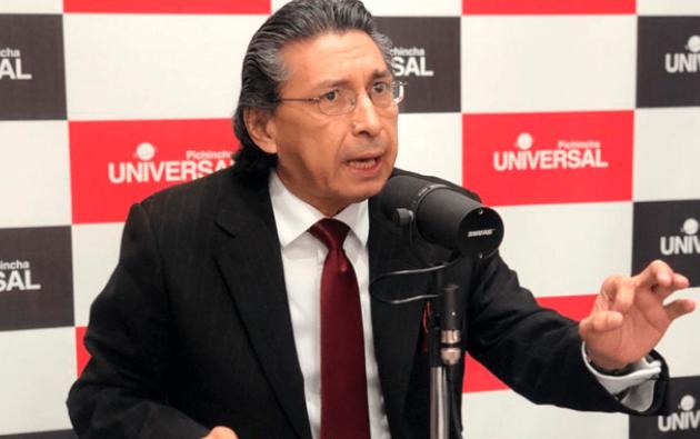 Fernando Ibarra, presidente del Parlamento Laboral Ecuatoriano.