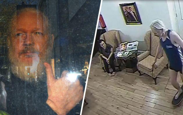 Assange permaneció refugiado en la embajada ecuatoriana en Londres desde junio de 2012 hasta el pasado abril.