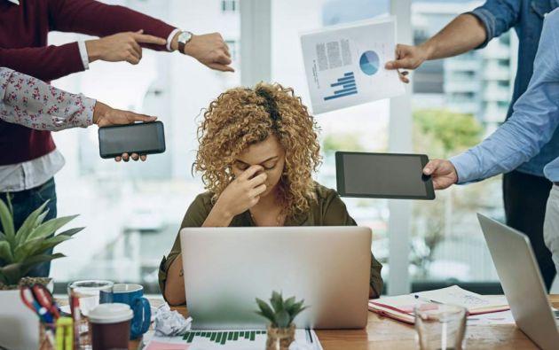 """El desgaste profesional """"se refiere específicamente a fenómenos relativos al contexto profesional"""". Foto: Pixabay"""