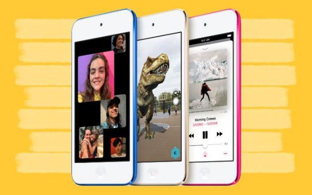 La versión renovada del iPod touch está disponible en seis colores distintos a partir de este mismo martes por internet.