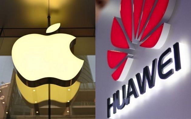 """Huawei es considerada un """"tesoro nacional"""" en China, al igual que Apple en Estados Unidos. Fotos: AFP"""