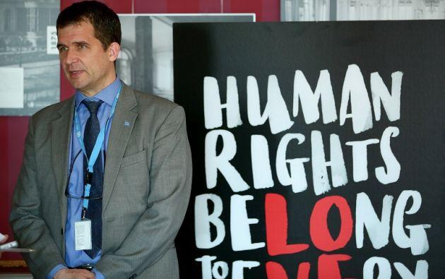 """""""¡La persecución colectiva de Julian Assange debe finalizar ahora!"""", exigió en un comunicado Nils Melzer, experto independiente de la ONU.  Foto: Reuters"""