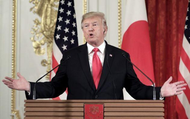 El presidente estadounidense Donald Trump visitará Reino Unido. Foto: AFP.