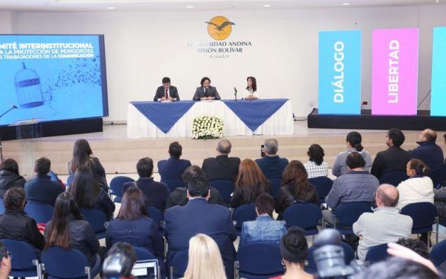 El Gobierno Nacional instaló la primera mesa técnica del Comité de Protección para los Periodistas.