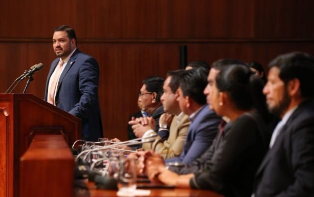 Madero socializó en la Asamblea Nacional el pago del incentivo jubilar.