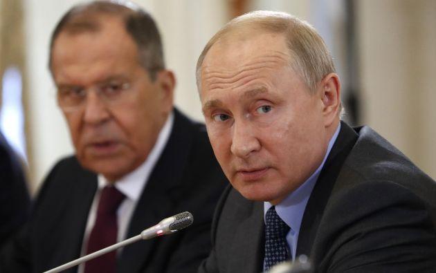 """""""Según los contratos, tenemos que honrar nuestras obligaciones y nuestros expertos siempre lo han hecho"""", recalcó el mandatario ruso. Foto: AFP"""