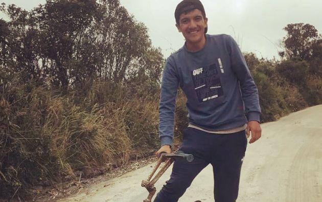 """Según Richard Carapaz """"pedir apoyo para el ciclismo en Ecuador era como gritarle a un sordo""""."""