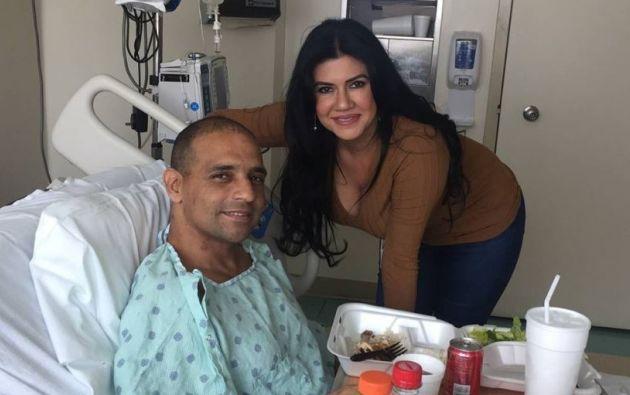 Alex Mesa fue diagnosticado con VIH hace 26 años.