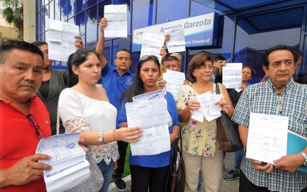 Sorprendidos e indignados. Solo durante el mes de mayo se presentaron más de 10.000 reclamos en CNEL-EP de Guayaquil.