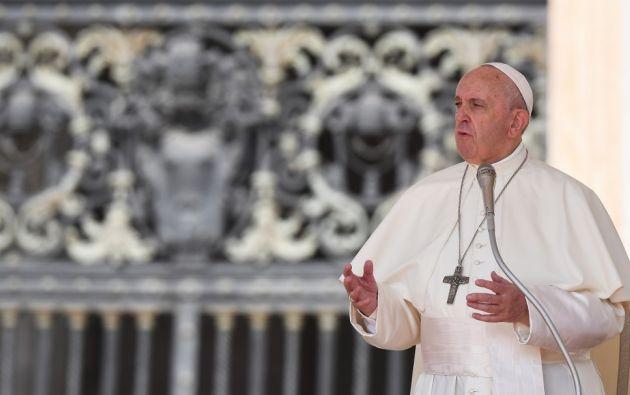 El Papa dijo que Dios no puede inducir a los hombres a la tentación. Foto: AFP