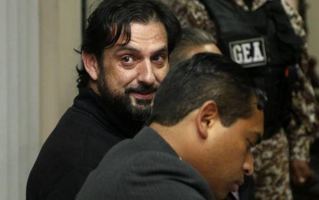 Ceglia se encuentra detenido desde el pasado 23 de agosto. Foto: AFP