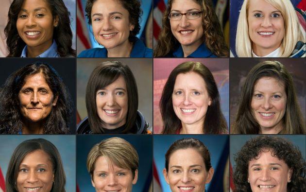¿Quién dará el salto gigante para las mujeres? Más de cincuenta años después del final del programa Apollo, la NASA planea regresar a la Luna para 2024. Foto: AFP
