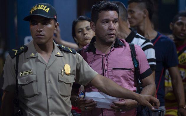 Más de 12.000 venezolanos llegaron a Perú en los últimos tres días. Foto: AFP