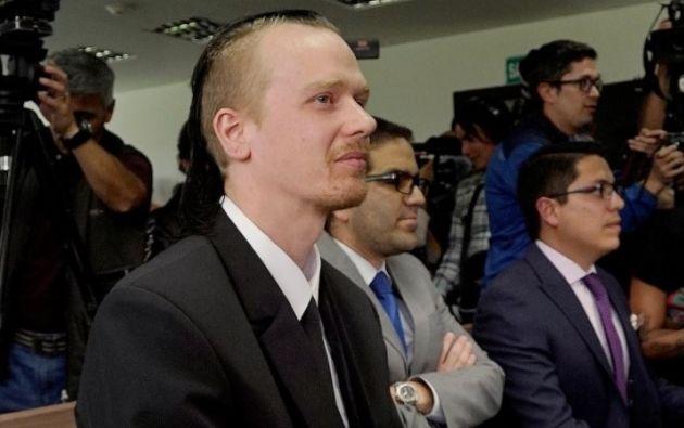 Ola Bini niega pertenecer a WikiLeaks. Foto: Reuters