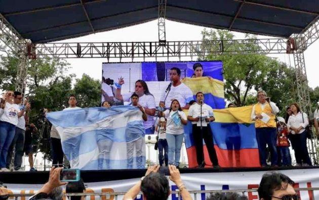 Marchas en Guayaquil y Quito contra matrimonio igualitario. Foto: Twitter