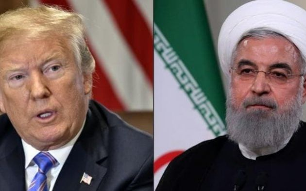 Irán amenaza con un conflicto regional si EEUU ataca. Foto: AFP