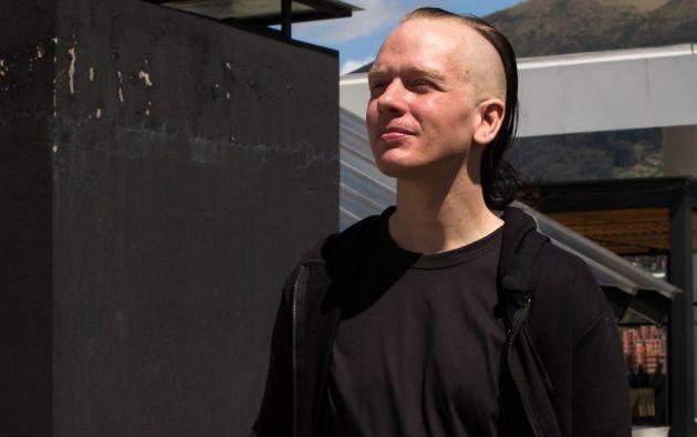 """Sueco Bini se considera un """"perseguido"""" en Ecuador y teme por la seguridad de Assange. Foto: AFP"""