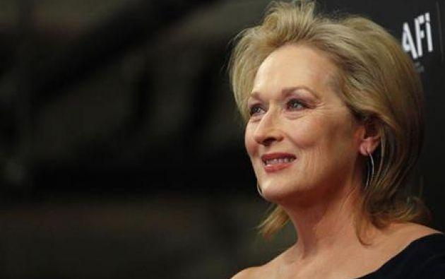 Meryl Streep conquista la época dorada de la TV a sus 70 años. Foto: Reuters