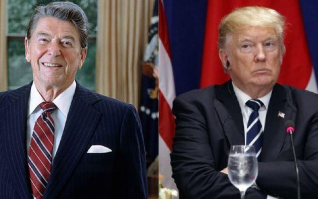 El último discurso de Ronald Reagan contradice las políticas antimigratorias del gobierno del republicano Donald Trump.