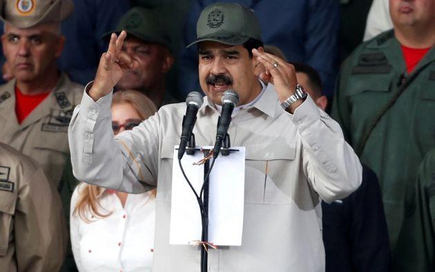 El Gobierno de Maduro denunció el pasado miércoles que desactivó un golpe de Estado. Foto: Reuters