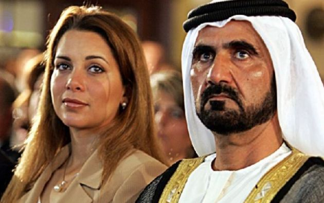 Haya de Jordania no es la única esposa del jeque de Emiratos Árabes, pero si es la más conocida. Foto: AFP
