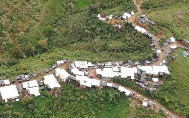 1.200 militares y 20 fiscales se movilizaron hacia la parroquia Buenos Aires, Imbabura.