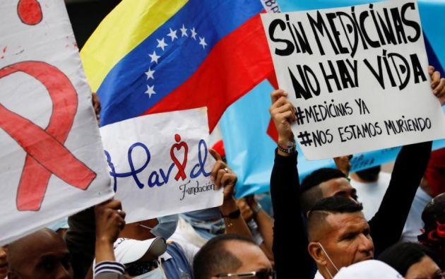 En Venezuela se calcula que hay 84.000 personas diagnosticadas con el virus y cerca de 8.000 han emigrado en los últimos años. Foto: Reuters
