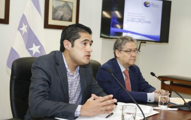 """Según el ministro de Economía y Finanzas, Richard Martínez, el Plan Prosperidad ha logrado """"la confianza y respaldo de los organismos internacionales""""."""