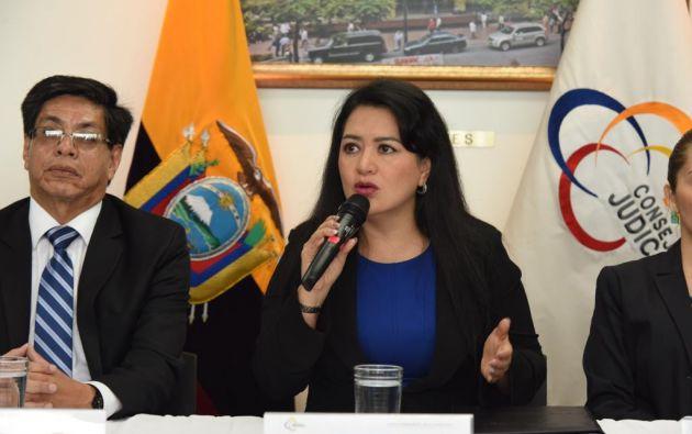 """""""Queremos informar a la ciudadanía que el proceso de evaluación no ha parado"""", manifestó Maldonado."""