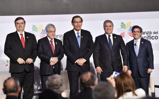 Presidentes asistieron a la VI Cumbre Empresarial en el marco de la XIV Cumbre de la Alianza del Pacífico realizada en Lima, Perú. Foto: @A_delPacifico