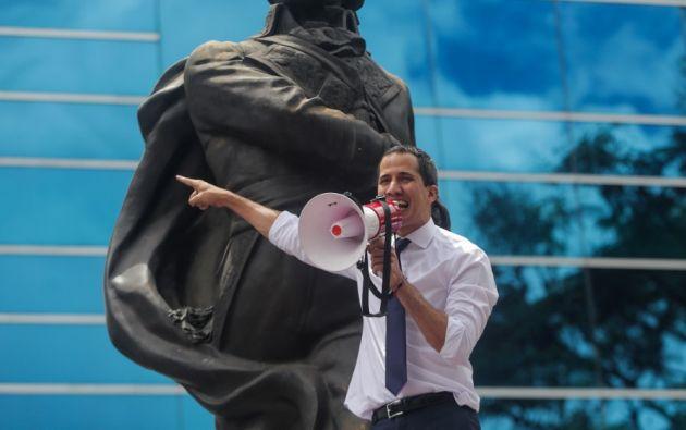 El país petrolero abandonó hace seis años el TIAR. Juan Guaidó anunció que su país regresará a ese organismo. Foto: AFP.