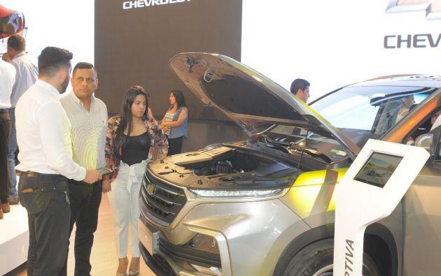 Chevrolet lidera el sector con vehículos importados y ensamblados en Ecuador.