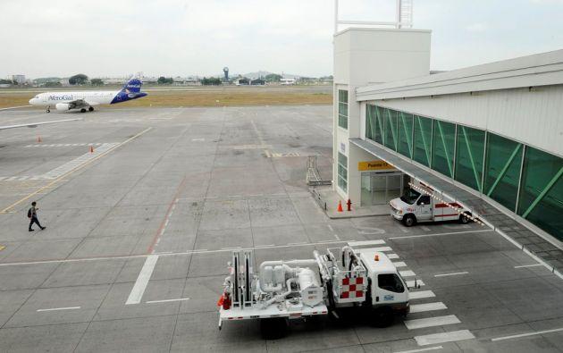 Aeropuerto de Guayaquil no tendrá vuelos en las madrugadas de cuatro fines de semana por arreglos en su pista.