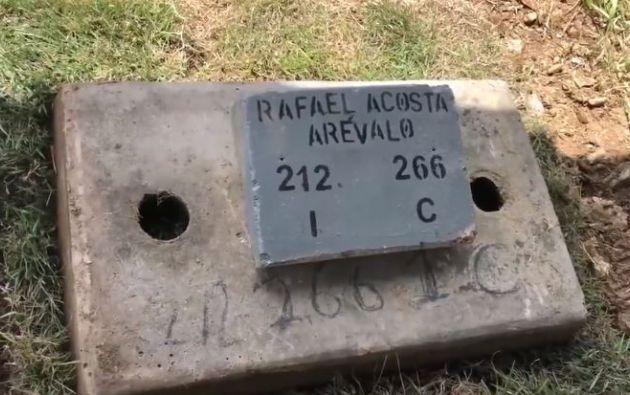 """A juicio del abogado de la familia del militar, """"se puede interpretar que las autoridades gubernamentales (dijeron) 'yo lo maté y yo lo entierro', es el Estado quien va a enterrarlo""""."""