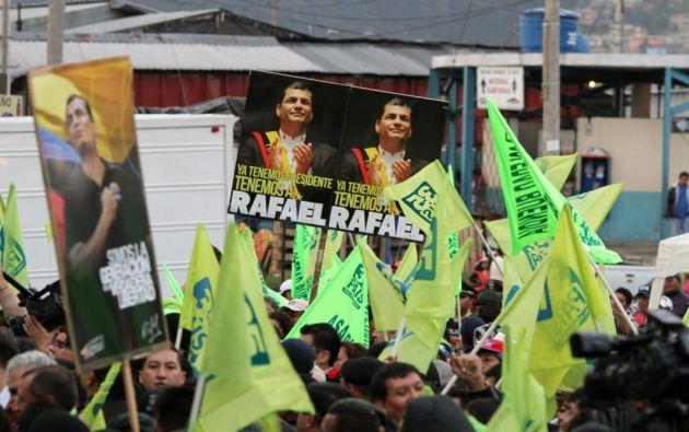 """Según el expediente, $100.000 fueron autorizados para la campaña """"Rafael contigo siempre"""". Foto: Agencia Andes"""