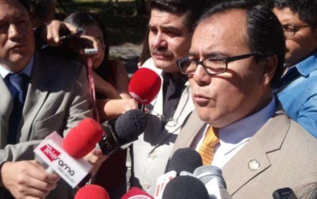 """Tello aseguró que el dictamen de la Corte es """"inapelable y de cumplimiento inmediato y obligatorio"""". Foto: Medios Públicos"""