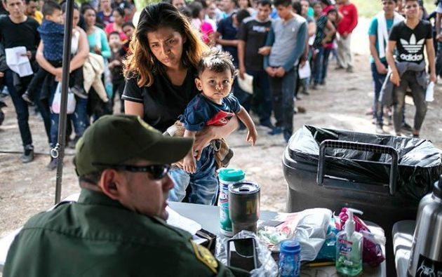 La amenaza de las deportaciones asusta a muchas comunidades en Estados Unidos. Foto: AFP