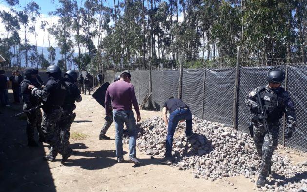 El allanamiento se produjo en la hostería del exfutbolista y exasambleísta, Agustín Delgado.