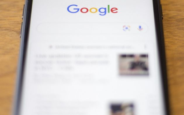 """Trump ha culpado reiteradamente a Google de """"sesgo"""" contra él y sus partidarios. Foto: AFP"""
