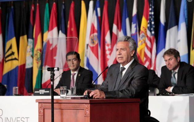 """En su discurso, el primer mandatario calificó como """"realmente apocalíptica"""" la migración venezolana."""
