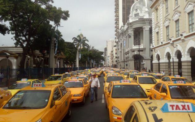 En el caso de Guayaquil, los taxistas anunciaron que llegarán hasta la Gobernación del Guayas, para entregar un manifiesto.