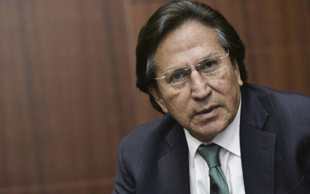 Toledo está acusado de haber recibido hasta 35 millones de dólares de Odebrecht. Foto: AFP.