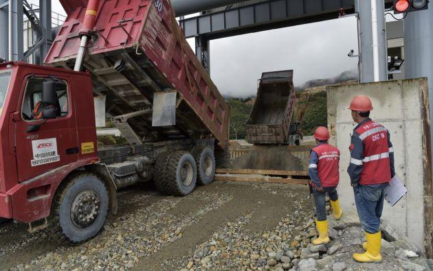 Las reservas de Mirador fueron estimadas en casi 3,2 millones de toneladas de concentrado de cobre. Foto: AFP
