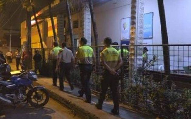 Según la Policía del cantón, se trató de una riña más entre bandas delictivas. Foto: Twitter.