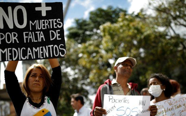 """""""En Venezuela cerca de 120.000 personas viven con VIH/sida"""". Foto: Reuters"""
