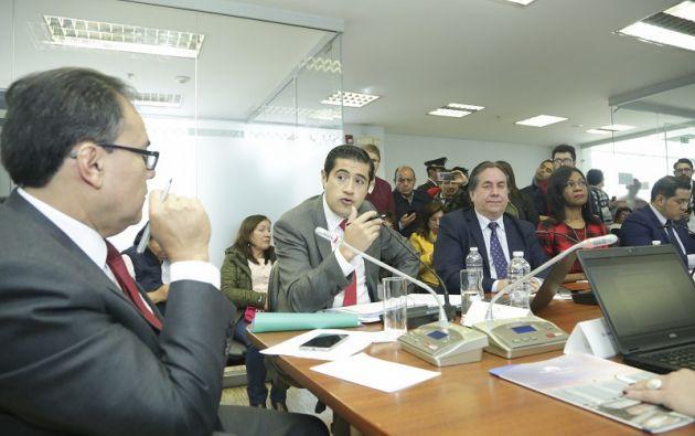 """En su intervención, el ministro pidió que no se politice el tema de los jubilados, """"pues corresponde a una deuda heredada""""."""